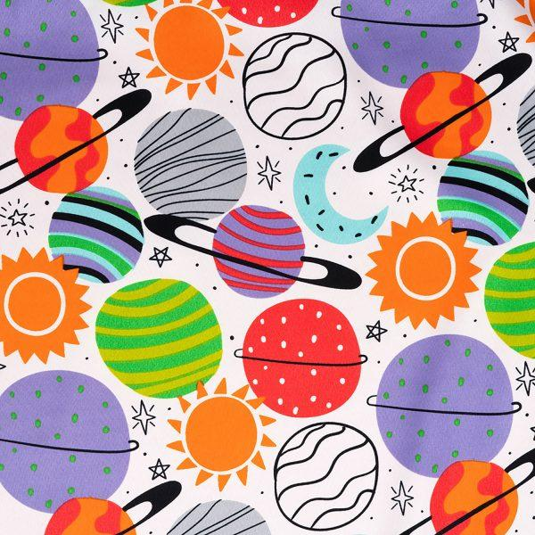 Plenty Of Planets Pillow Sham - The Futon Cover Company