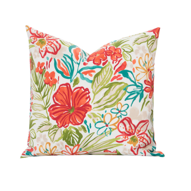Palm Island Pillow Cover - The Futon Cover Company