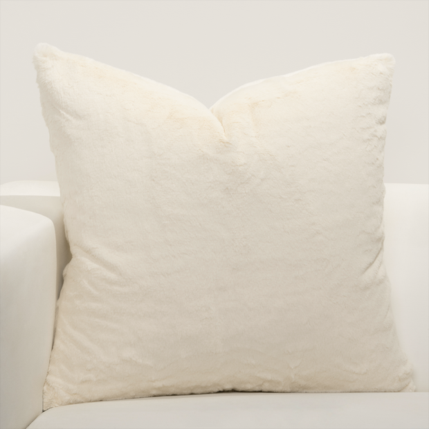 Such A Beauty Faux Fur Pillow Cover - The Futon Cover Company