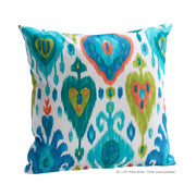 Tortola Citron Pillow Cover - The Futon Cover Company