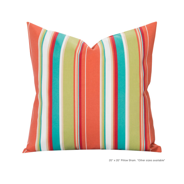 Boardwalk Pillow Cover - The Futon Cover Company