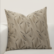 Fine Point Sable Pillow Cover - The Futon Cover Company