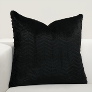 High Kicks Faux Fur Pillow Cover - The Futon Cover Company