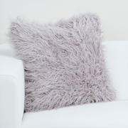 Llama Dusty Lavender Pillow Cover - The Futon Cover Company