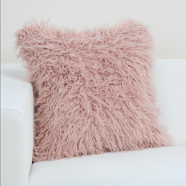 Llama Rose Quartz Pillow Cover - The Futon Cover Company