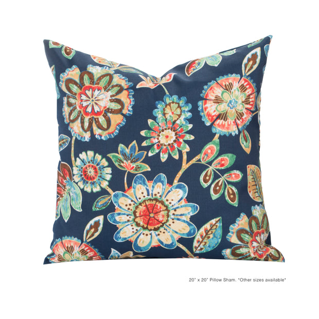 Magnolia Pillow Cover - The Futon Cover Company