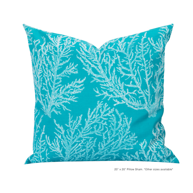 Sea Coral Pillow Cover - The Futon Cover Company