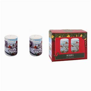 Robin Salt and Pepper Gift Set Add some festive cheer to your dining this Christmas with the adorable Robin Salt and Pepper set/Giftworks, Ennis&Galway