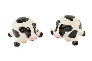 Lying Cow Salt & Pepper Shakers, Adorable and a conversation starter at the dinner table/Giftworks, Ennis&Galway