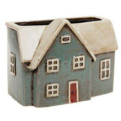 Village Pottery Light Blue House Pot - Giftworks