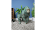 Impressive in size as in structure. This Gorilla Flower Pot ornament is an impressive statement piece which would really stand out in any setting/Giftworks, Ennis&Galway