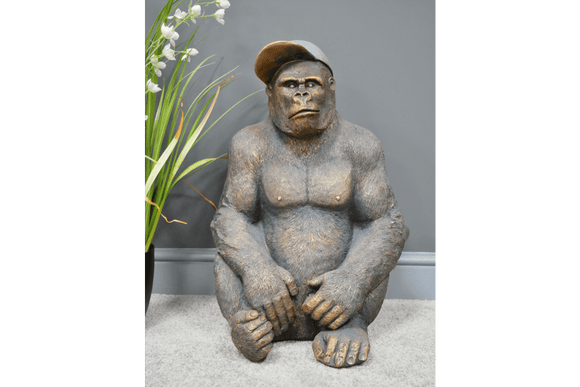 Get a load of Gavin The Gorilla Resin Ornament commanding your attention/Giftworks, Ennis&Galway
