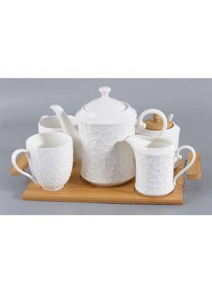 Is It Tea Time Yet? Put on the kettle and celebrate with The Adele 5 Piece Tea Set from The Grange Collection/Giftworksstore/Ennis&Galway