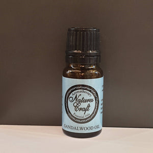 Natures Craft Sandalwood Essential oil is known for its woodsy, sweet smell, it is commonly used for products such as incense, perfumes and aftershaves/Giftworks, Ennis&Galway