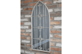 Rustic Mirror Add a new dimension to your garden with an outdoor mirror. Reminiscent of a Gothic window/Giftworks, Ennis&Galway