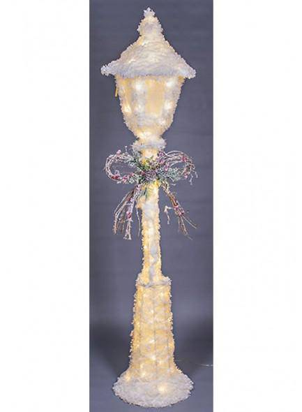 The Grange Christmas Lamp Post with 70  LED Lights. Bring the magic of outdoors inside or outside and create a winter wonderland with the festive street lamp/GIFTWORKS