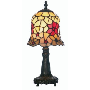 Cordelia Tiffany Table Lamp Make your home look classy with a Tiffany Lamp. When the light is switched on, light radiates through the tiffany glass and illuminates the stained glass pieces/Giftworks, Ennis&Galway