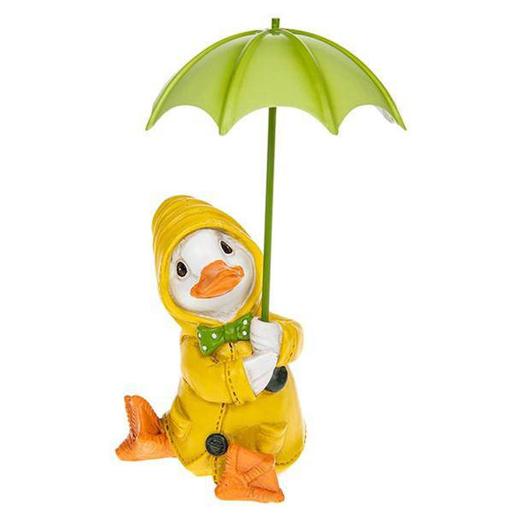 Puddle Duck Yellow Coat Brolly Featuring an adorable Puddle Duck in brightly coloured yellow coat/Giftworks, Ennis&Galway