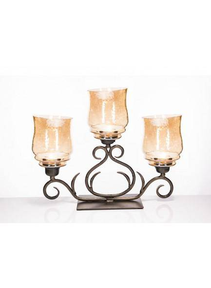 The Grange Collection Julie Hurricane Candle Holder. Add a touch of Tuscan style/Giftworks, Ennis&Galway