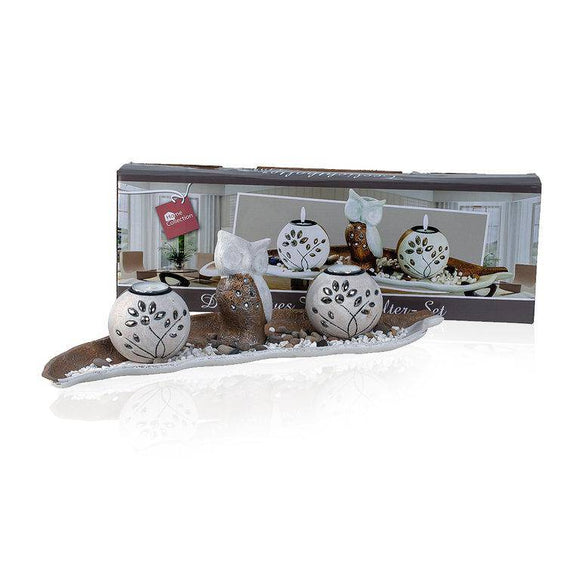 Decorative candle holder set with owl- Give a hoot, If you are not an owl lover yourself, then chances are that you know at least one of them.