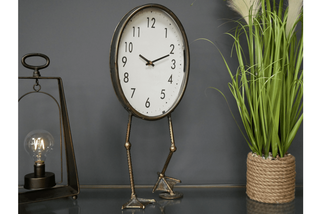 Fantastic and quirky. This duck mantel clock is a quirky piece to add character to your home/Giftworks, Ennis&Galway