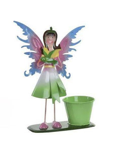 Fairy Flower Pot Planter Green