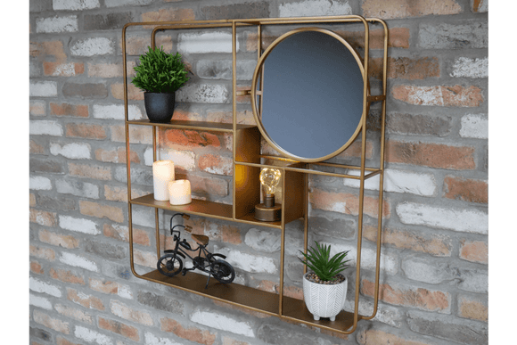 An striking mirrored storage piece for a living room, bedroom, bathroom or hallway/GiftworksStores, Ennis&Galway