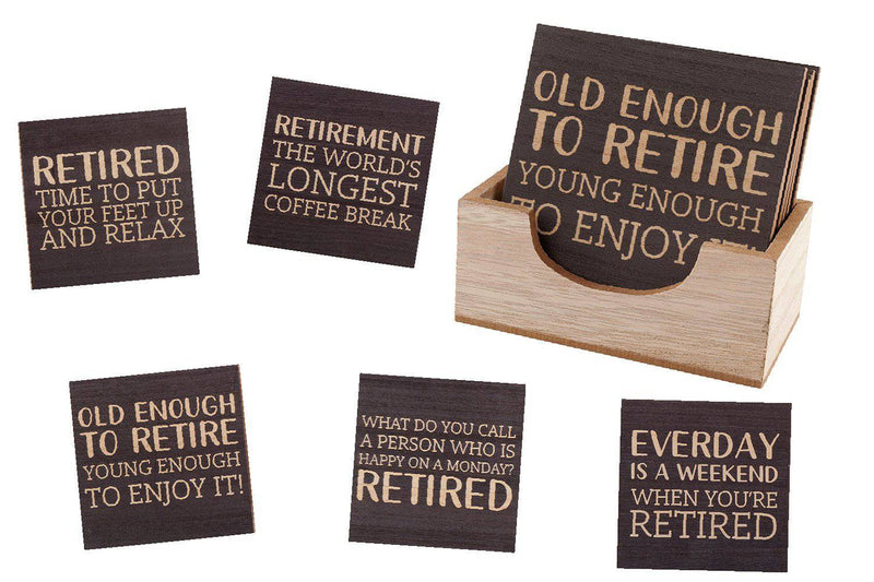 RETIRED COASTER - Giftworks