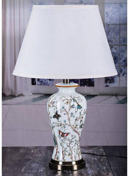 The Grange Collection Butterfly Table Lamp - Giftworks