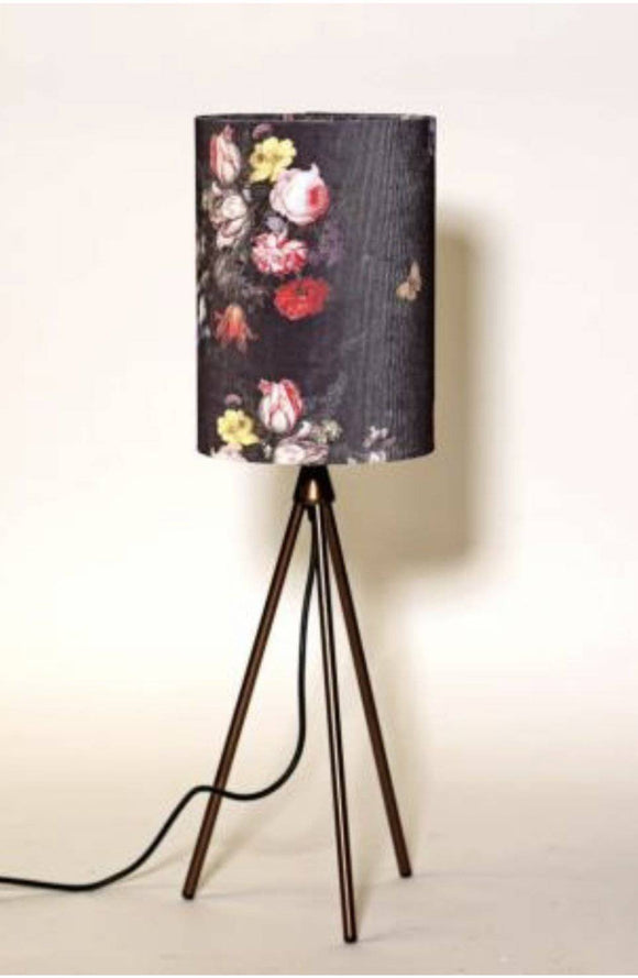 Grey Corduroy Table Lamp The colourful lamp features a beautiful corduroy design/Giftworks, Ennis&Galway