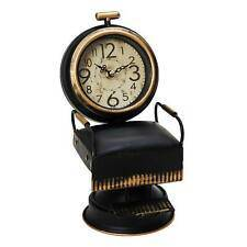 Vintage Barber's Chair Mantal Clock. The perfect gift for a fan of vintage memorabilia or a barber/GiftworksStores