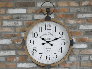 The American Clock Co. Pocket Watch Style Wall Clock/GiftworksStores, Ennis&Galway