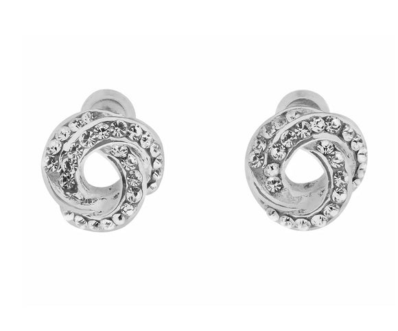 Crystal Knot Earrings (IEAR0608)