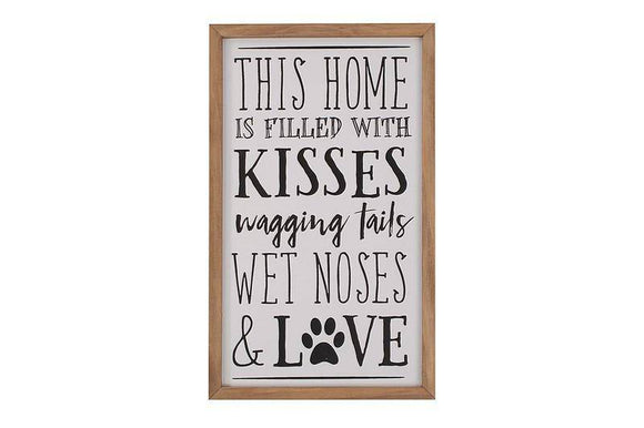 Barking Mad Frame Plaque certainly allows you show your unconditional love for your pet/Giftworks, Ennis&Galway