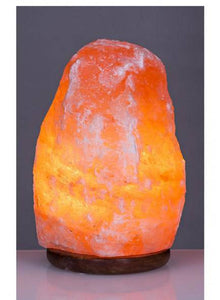 Himalayan Salt Lamp.  Bring a calm, serene and tranquil feeling to any room with a beautiful salt lamp. Salt lamps are known throughout the world for their ability to purify the air/Giftworks