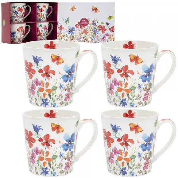 Butterfly Meadow Gift Set Add a touch of spring flair to your dining with the vibrant Butterfly Meadow Mugs/Giftworks, Ennis&Galway