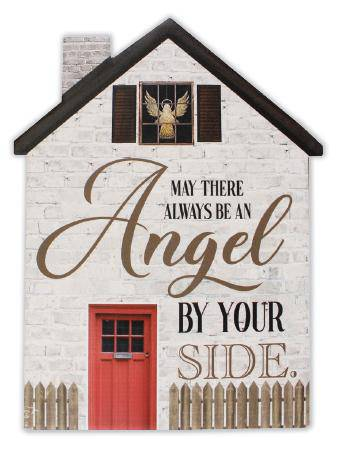 If you like angels, you will delight in hanging this inspirational angelplaque in your home or gifting it to someone special/Giftworks, Ennis&Galway