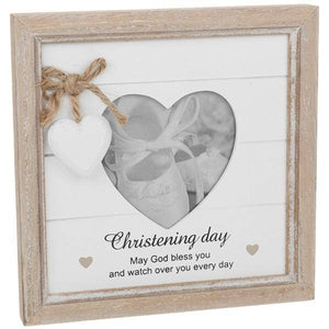 Rustic Heart Frame Christening A wonderful celebration and dedication of the Baby's life/Giftworks, Ennis&Galway