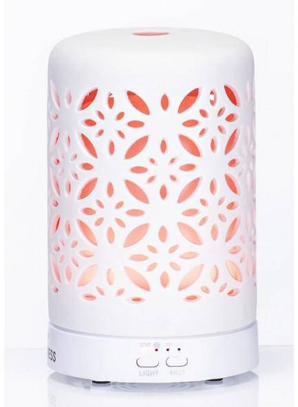 The Grange Collection Aroma ceramic essential oil diffuser will disperse essential oils as a fine vapour throughout the air so they can be absorbed gently by the body and the mind to calm, relax or invigorate you/Giftworks, Ennis&Galway