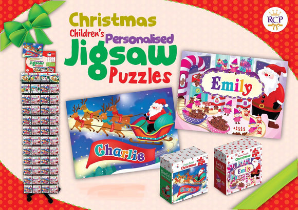Christmas Children's Jigsaw Puzzle/Giftworks, Ennis&Galway