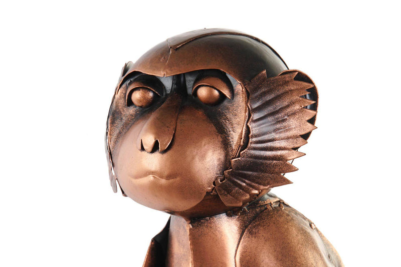Monkey Lamp Aged Floor Lamp - Giftworks