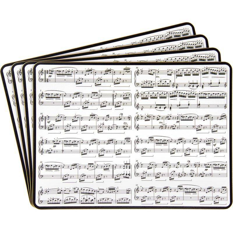 Making Music Design Placemats Set of 4