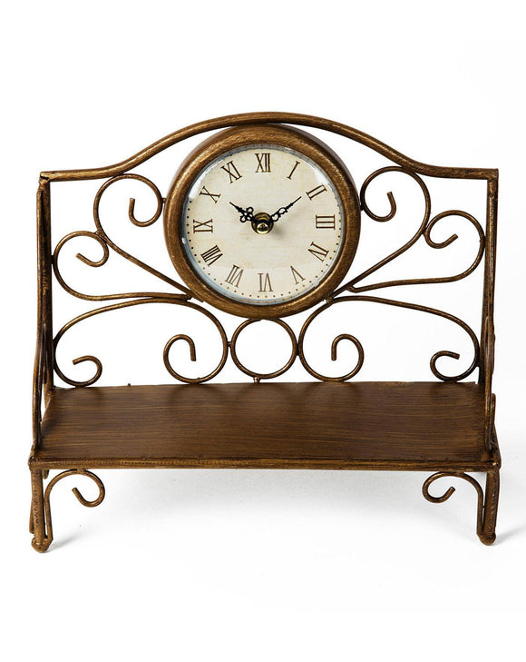 This clock is the perfect addition to any home that loves to create a quirky vintage feel with their decor/Giftworks