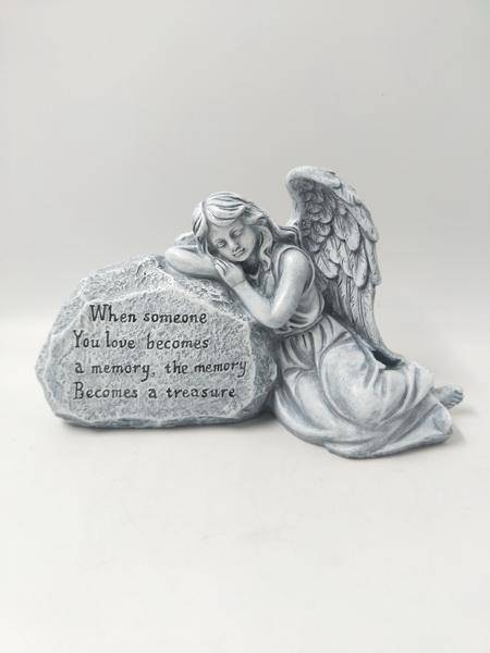 Enhance the grave site of your loved one with this Angel memorial ornaments/Giftworks, Ennis&Galway