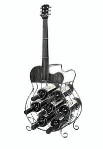 Guitar Wine Bottle Holder This whimsical Guitar bottle holder from premium collection is the perfect accessory to store and proudly exhibit bottles of wine in a cellar, or in any other room/Giftworks, Ennis&Galway