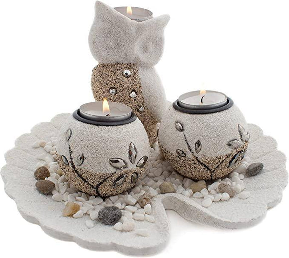OWL TEA-LIGHT HOLDER