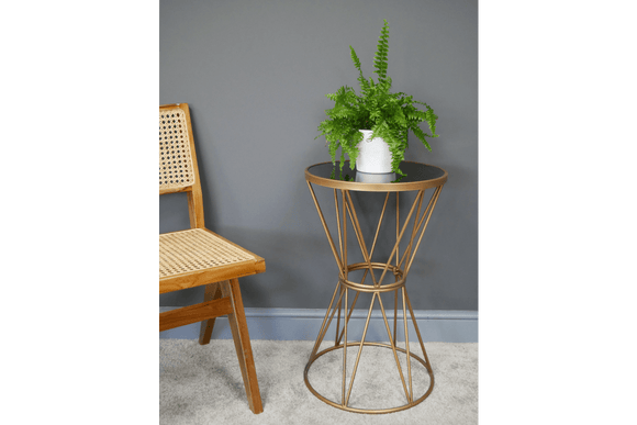 Plant Stand A unique Plant Stand side table to say the least. The perfect table to show off your flowers or plants/Giftworks, Ennis&Galway