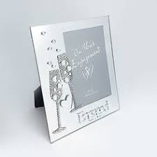 Engagements Glass Photo Frame
