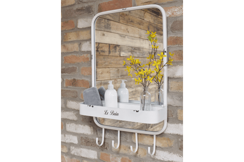 Bathroom Mirrors With Shelf - Giftworks