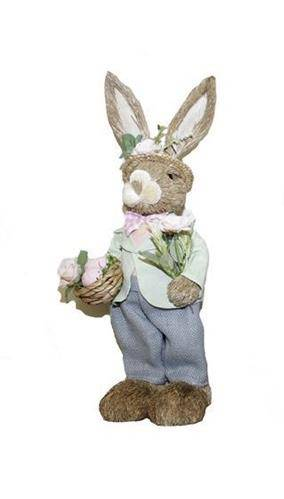 Mr Peter Whimsy Bunny Medium Easter Decorations - Giftworks